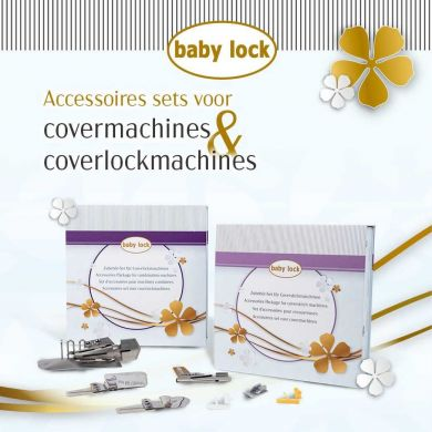 Babylock Accessoires set voor Coverlockmachines
