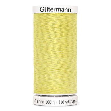 Gütermann jeansgaren 100 m, kleur 1380
