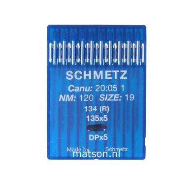 Naalden 134R Schmetz dikte 120, 10st.