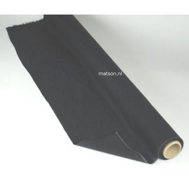 Plakkatoen tussenvoering zwart 90cm breed
