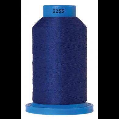 Amann Mettler Seraflock lockgaren 1000m kobalt blauw kleur 2255