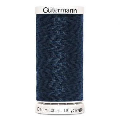 Gütermann jeansgaren 100 m, kleur 6855