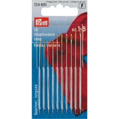 Stopnaalden lang 60-73 mm, 10 stuks Prym
