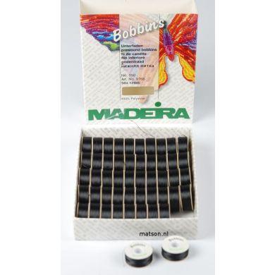 Madeira spoeltjes zwart ondergaren, 50 stuks