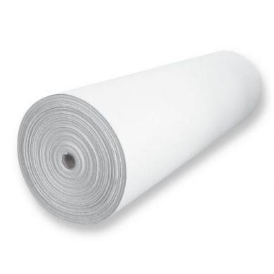 Strijkbare versteviging  afscheurbaar wit 44 cm x 50 meter