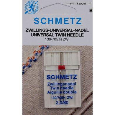 Schmetz naalden tweeling 2,0/80