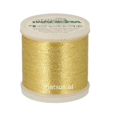 Madeira Metallic 200 m, Gold 6
