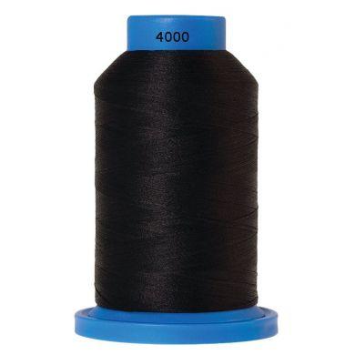 Amann Mettler Seraflock lockgaren 1000m zwart kleur 4000