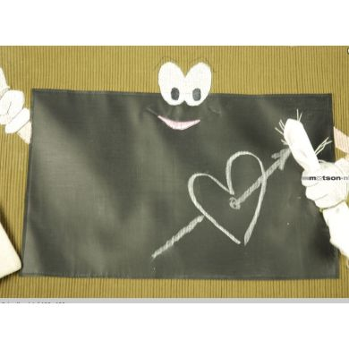 Schoolbordstof 50x 60cm
