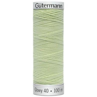 Gütermann Sulky Glowy 100 m, Kleur 7 Groen