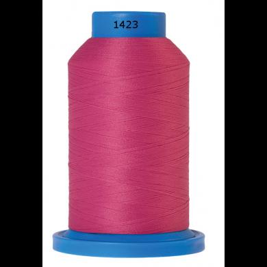 Amann Mettler Seraflock lockgaren 1000m roze kleur 1423