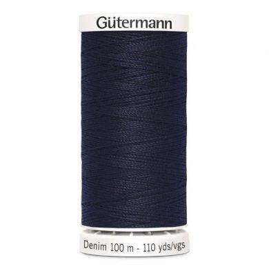 Gütermann jeansgaren 100 m, kleur 6950