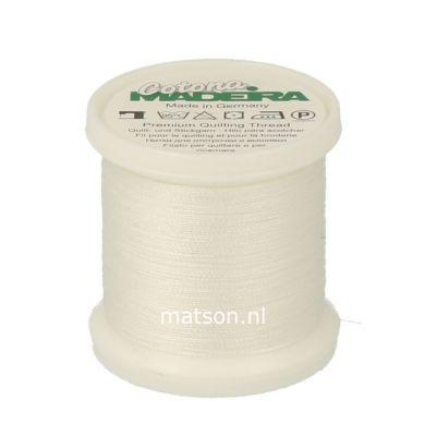 Madeira Cotona 200 m, kleur 502 wit