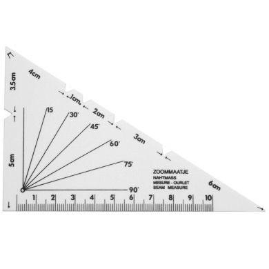 Zoommaatje - Driehoek