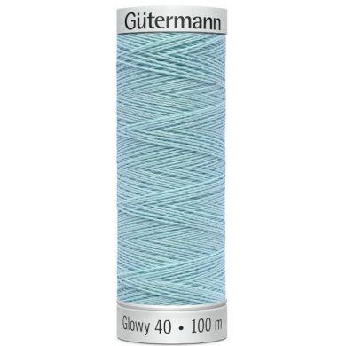 Gütermann Sulky Glowy 100 m, Kleur 4 Blauw