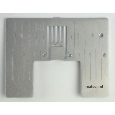Naaldplaat Pfaff code J