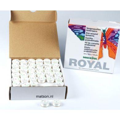 Madeira spoeltjes wit ondergaren, 144 stuks