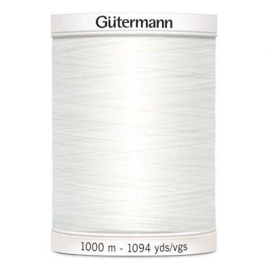 Gütermann Naaigaren 1000 m, kleur 800 wit