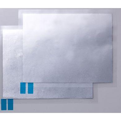 Embossing metaalfolie 2 stuks 20,6 cm x 15,24 cm