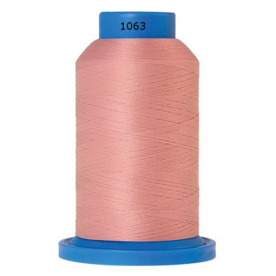 Amann Mettler Seraflock lockgaren 1000m oud roze kleur 1063