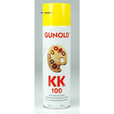 Gunold KK 100 eco plakspray/ lijmspray