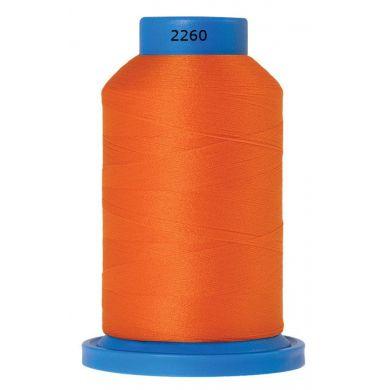 Amann Mettler Seraflock lockgaren 1000m oranje kleur 2260