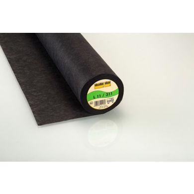 Vlieseline L11 90cm zwart Niet strijkbaar, per meter per meter