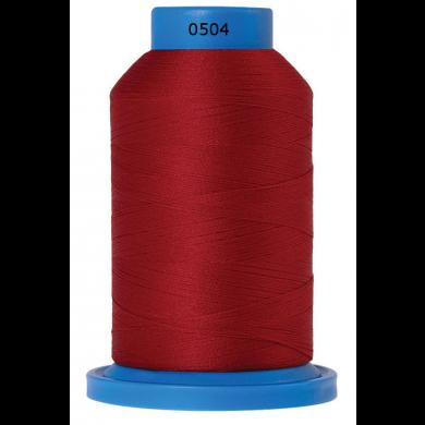 Amann Mettler Seraflock lockgaren 1000m rood kleur 0504