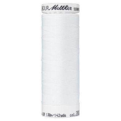 Mettler Seraflex 130m kleur 2000, wit