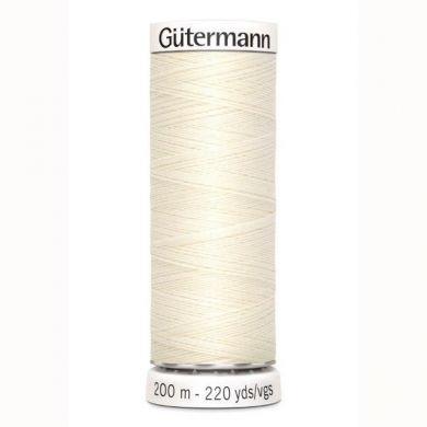 Gütermann Naaigaren 200 m, kleur 1