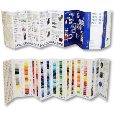 Kleurkaart Brildor Polyester