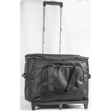 Mobiele koffer / trolley zwart