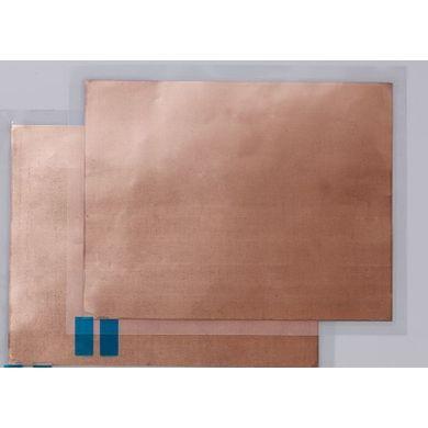 Embossing metaalfolie 2 stuks 20,6 cm x 15,24 cm Koperkleurig