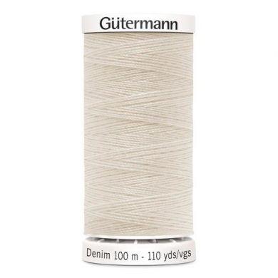 Gütermann jeansgaren 100 m, kleur 3130