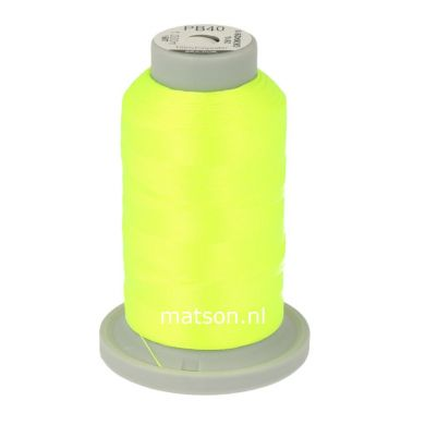 Brildor Polyester 1000 m, kleur 2910 neon