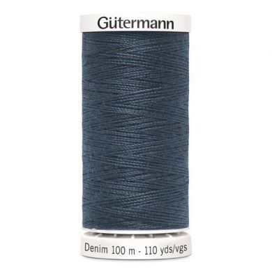 Gütermann jeansgaren 100 m, kleur 7635