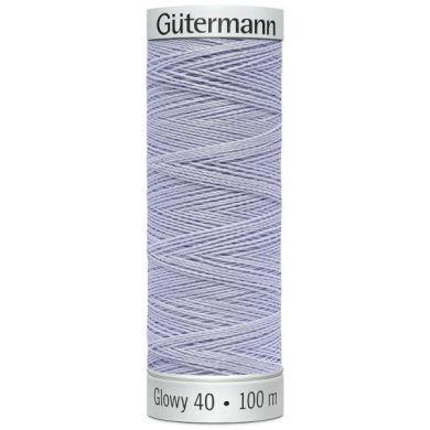 Gütermann Sulky Glowy 100 m, Kleur 6 Paars