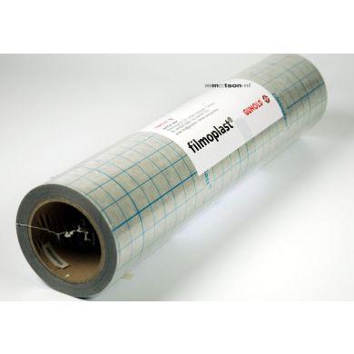 Filmoplast zwart 50 cm, rol 25 m