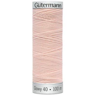 Gütermann Sulky Glowy 100 m, Kleur 2 Zalm