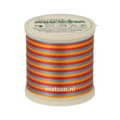 Madeira Rayon Multicolor 200 m, kleur 2142