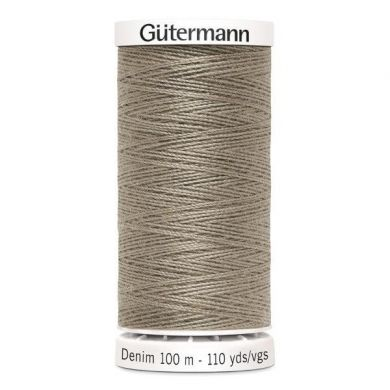 Gütermann jeansgaren 100 m, kleur 2430