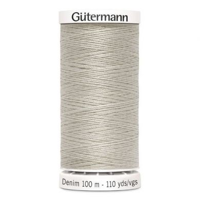 Gütermann jeansgaren 100 m, kleur 3070