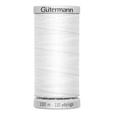Gütermann Super Sterk 100 m, kleur 800 wit