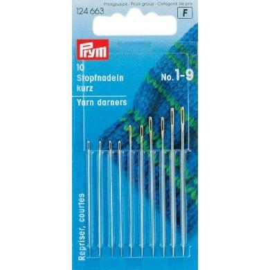 Stopnaalden kort 43-56 mm, 10 stuks Prym