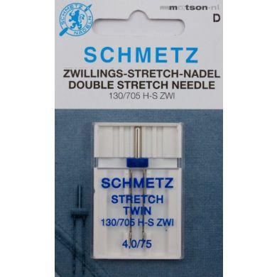 Schmetz naald tweeling stretch 4,0/75