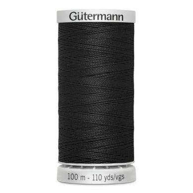 Gütermann Super Sterk 100 m, kleur 000 zwart