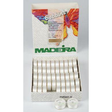 Madeira spoeltjes wit ondergaren, 50 stuks