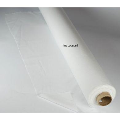Plakkatoen tussenvoering wit 90cm breed