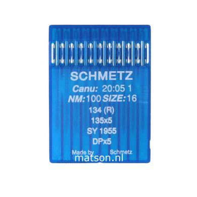 Naalden 134R Schmetz dikte 100, 10st.