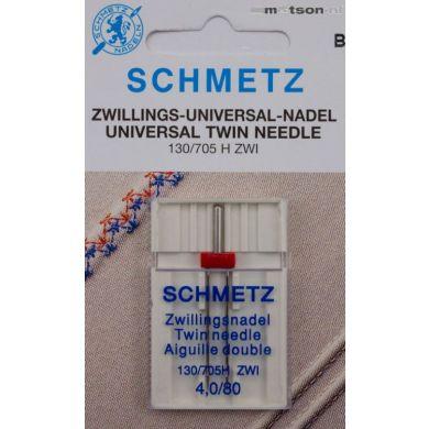 Schmetz naalden tweeling 4,0/80